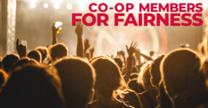 Co-op Members for Fairness, Town Hall April 18 2019