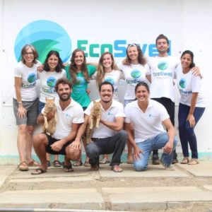 Volunteering for EcoSwell in Peru