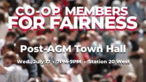Event: Post AGM Town Hall, July 17, 2019