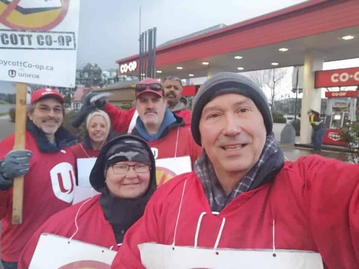 Co-op Refinery workers have been locked out by management since December 5, 2019.